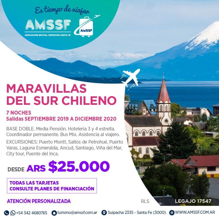 Maravillas del sur chileno