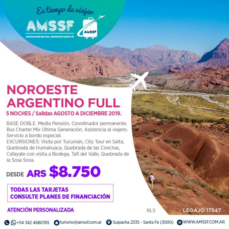 Noroeste Argentino full