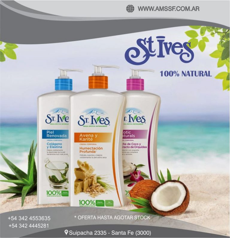 ST IVES CREMA CORPORAL